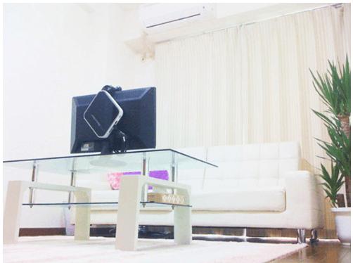 清潔な個室タイプのチャットルーム